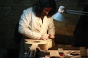 Construyendo guitarra de Ciprés